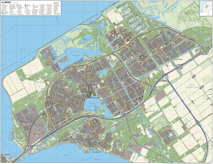 Almere-topografie
