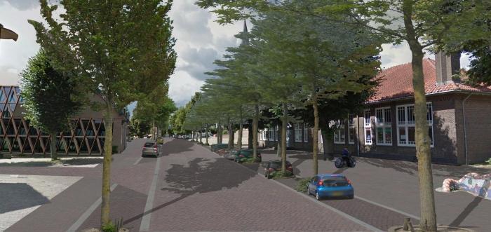 Dorpsstraat nieuw